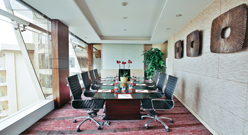 Executive floor conference room